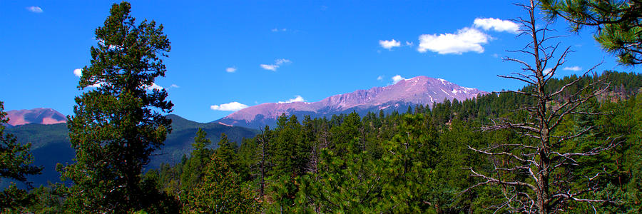 Remembering Waldo Canyon Panoramic Photograph  - Remembering Waldo Canyon Panoramic Fine Art Print