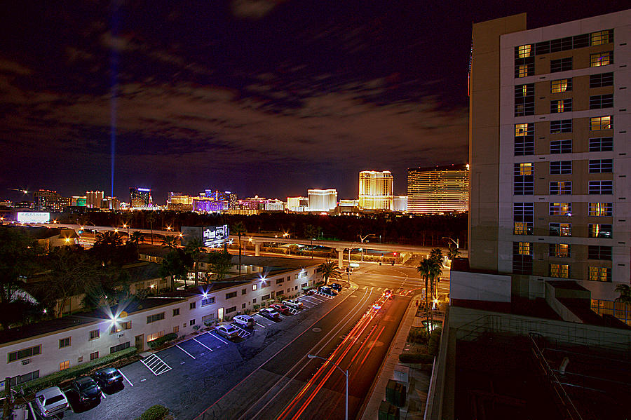renaissance hotel overlooking downtown las vegas nevada. Black Bedroom Furniture Sets. Home Design Ideas