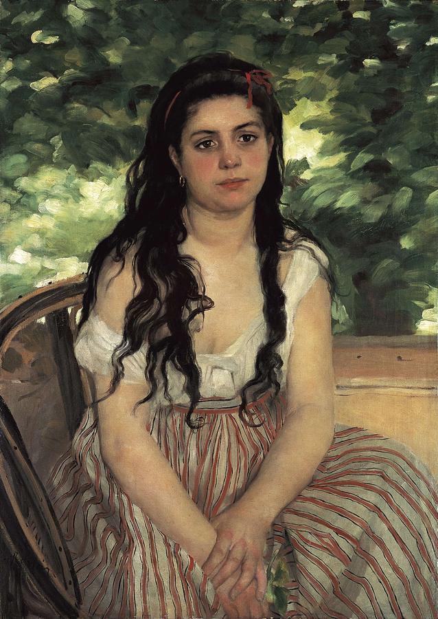 Renoir, Pierre-auguste 1841-1919. In Photograph