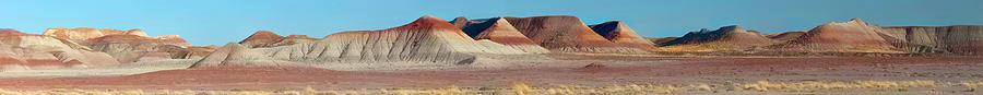 Repainted Desert Photograph