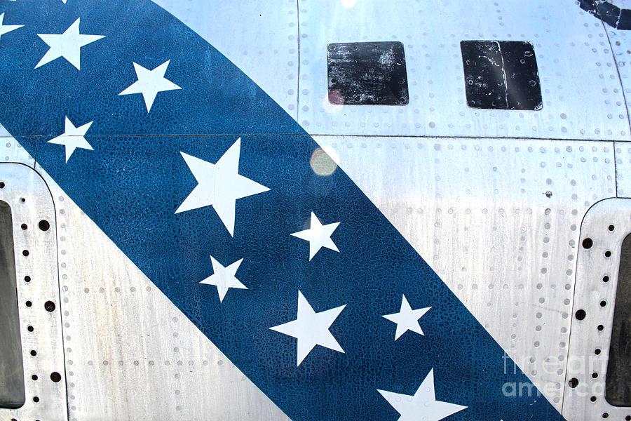 Republic Thunderflash Rf-84k - Stars Photograph