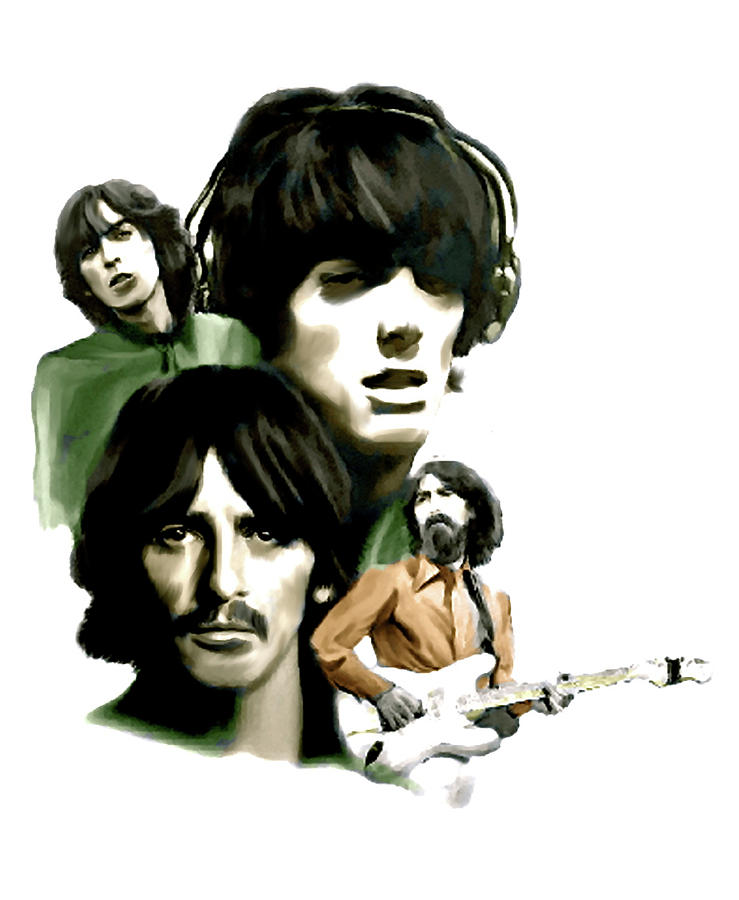Requiem George Harrison Painting  - Requiem George Harrison Fine Art Print