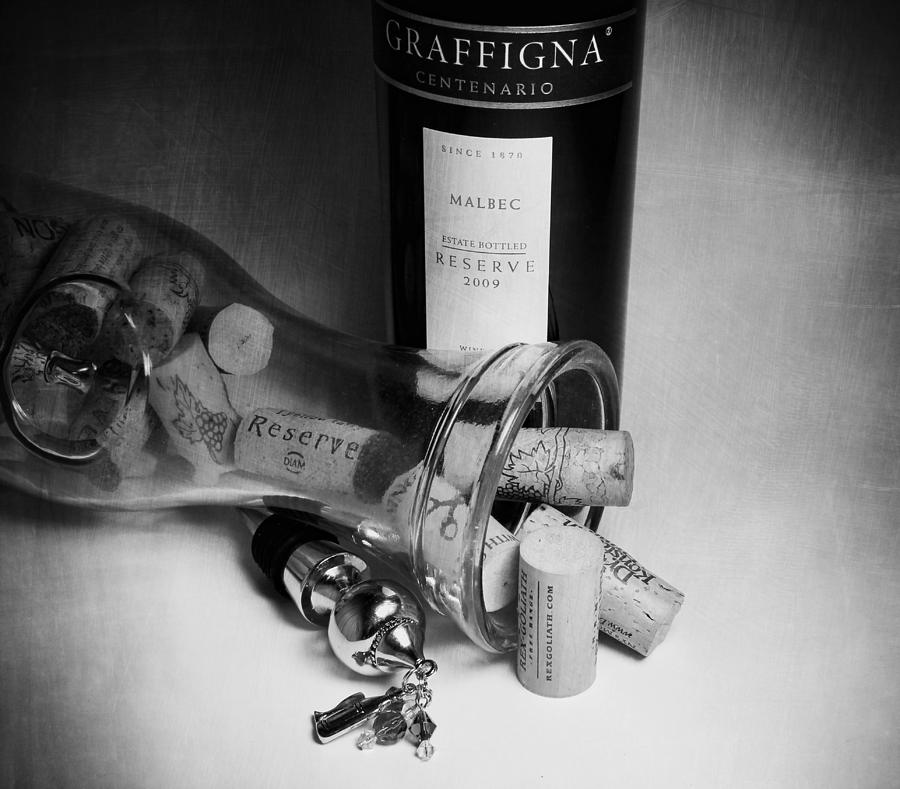 Wine Photograph - Reserve by Peter Chilelli