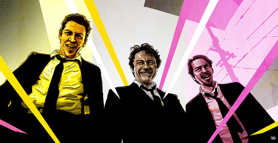 Reservoir Dogs Digital Art  - Reservoir Dogs Fine Art Print