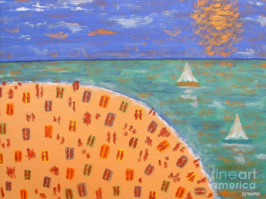 Resort Painting  - Resort Fine Art Print