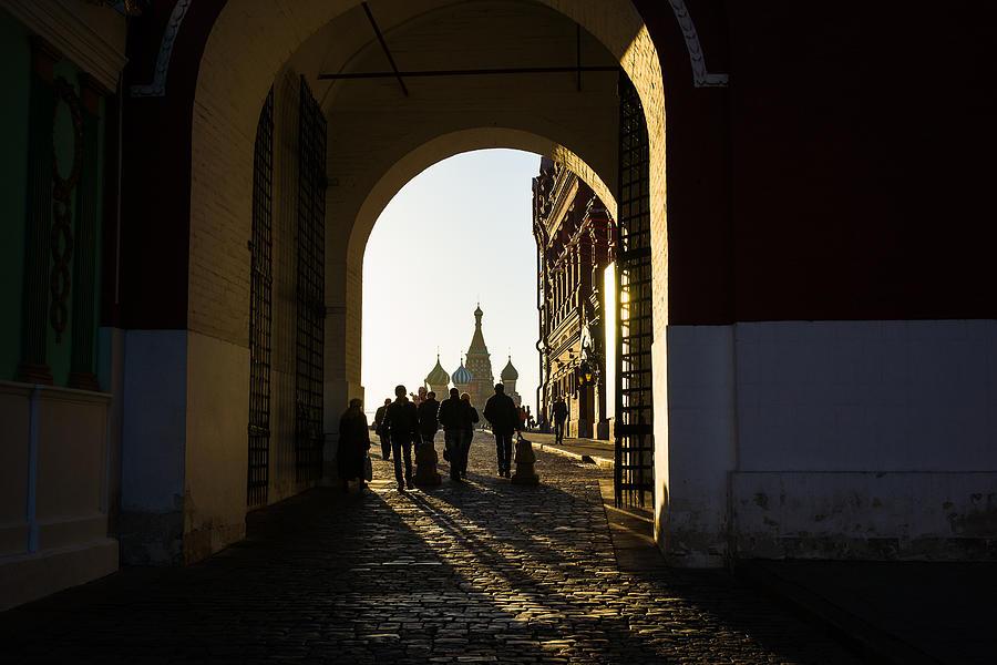 Architecture Photograph - Resurrection Gate by Alexander Senin