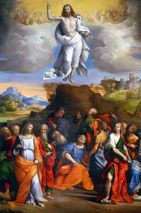 Jesus Photograph - Resurrection  by Munir Alawi
