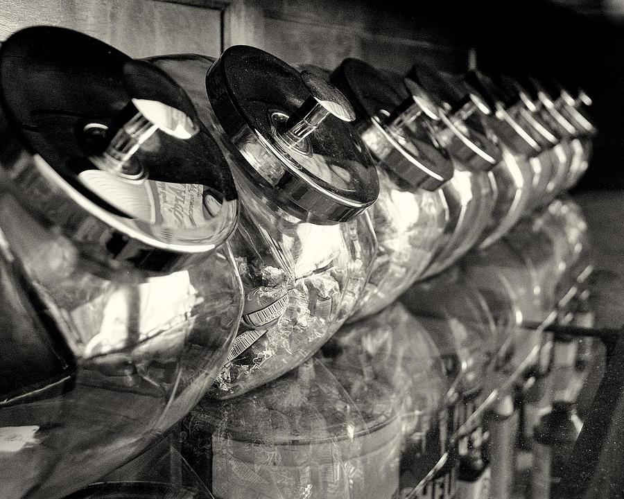 Retro Candy Jars Photograph