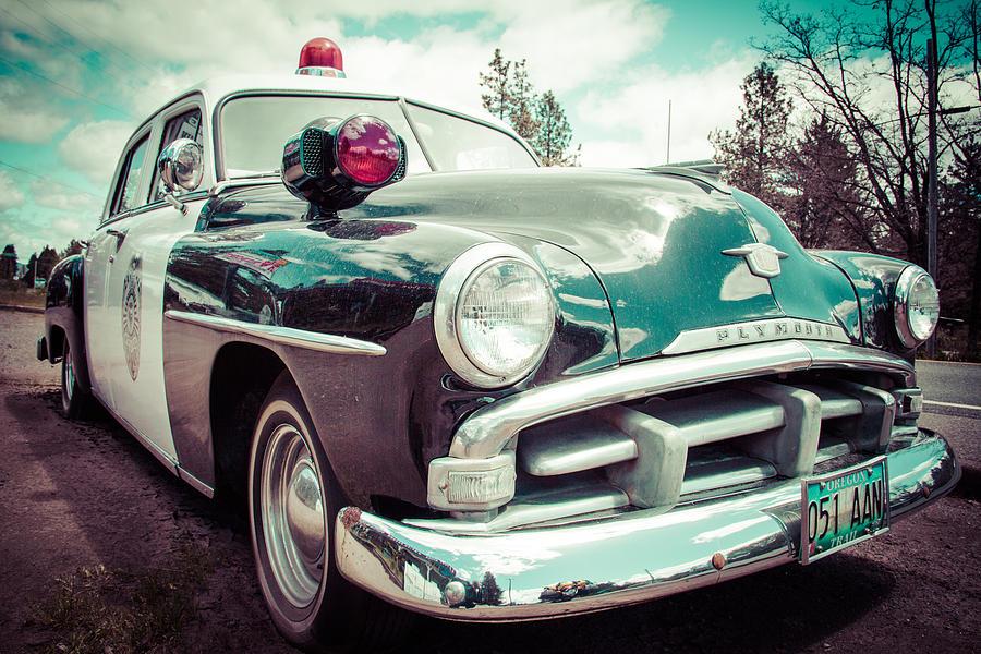 Retro Cop 2 Photograph