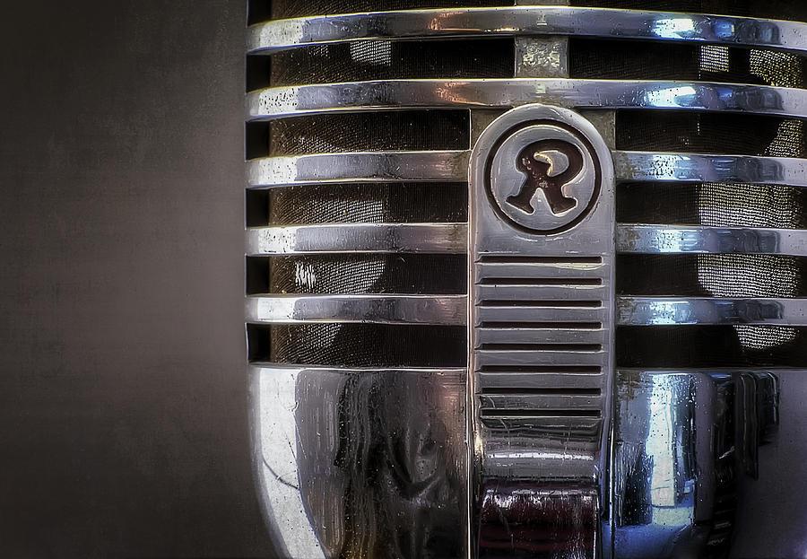 Retro Microphone Photograph