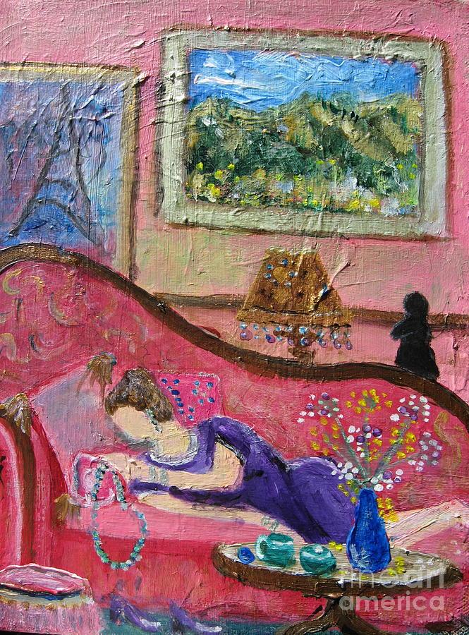 Reve D Une Femme Painting
