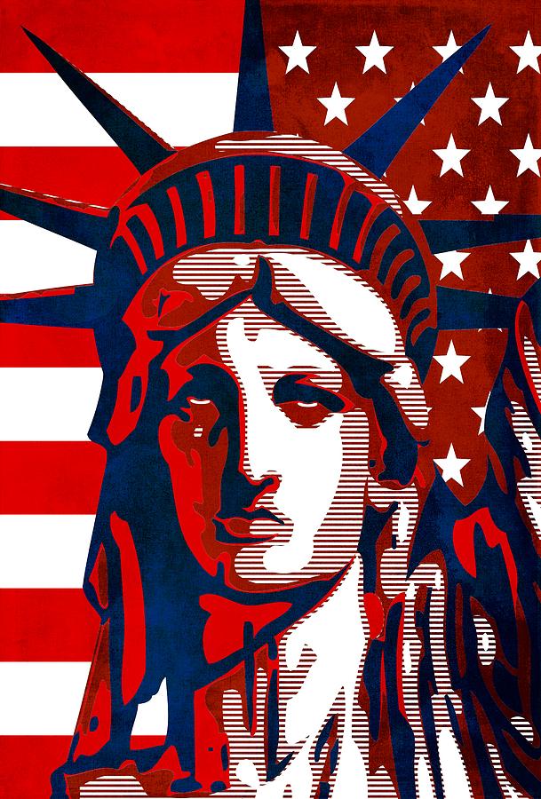 Reversing Liberty 2 Mixed Media