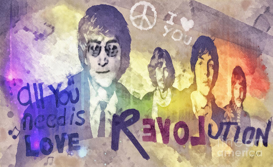 Revolution Mixed Media  - Revolution Fine Art Print