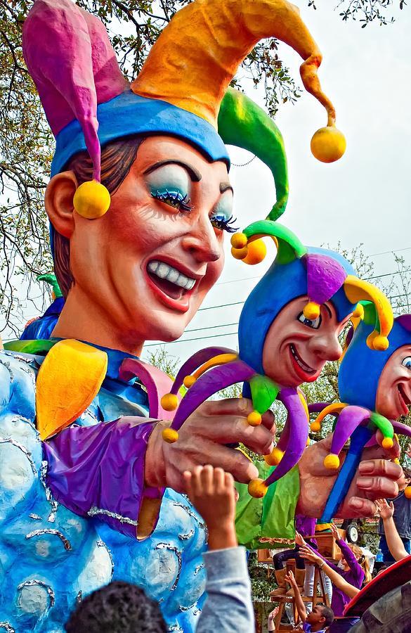 Rex Mardi Gras Parade Xi Photograph