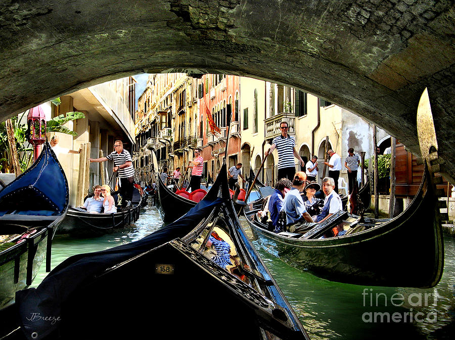 Rhythm Of Venice Photograph  - Rhythm Of Venice Fine Art Print