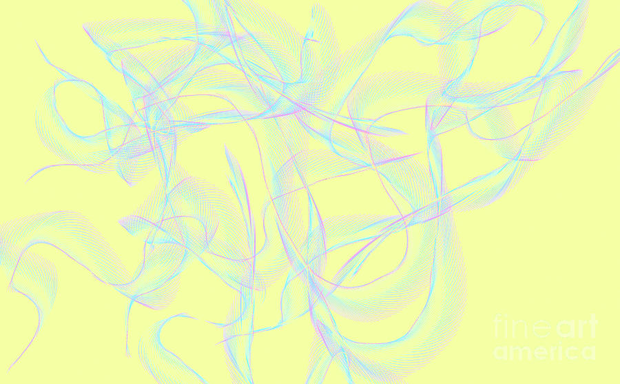 Ribbons Digital Art
