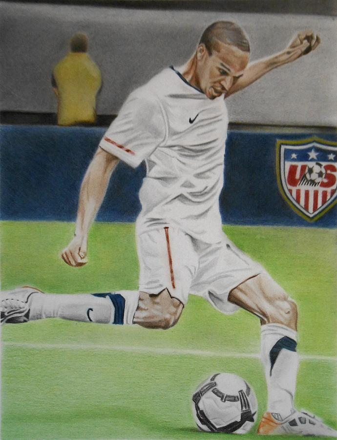 Ricardo Clark Usmnt Drawing