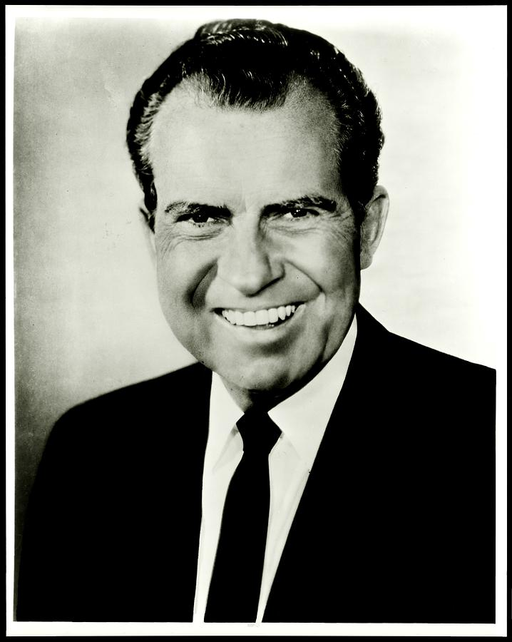 Richard M Nixon Photograph  - Richard M Nixon Fine Art Print