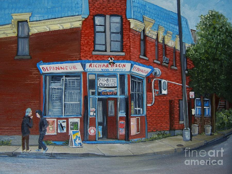 Richardson Depanneur Pointe St. Charles Painting