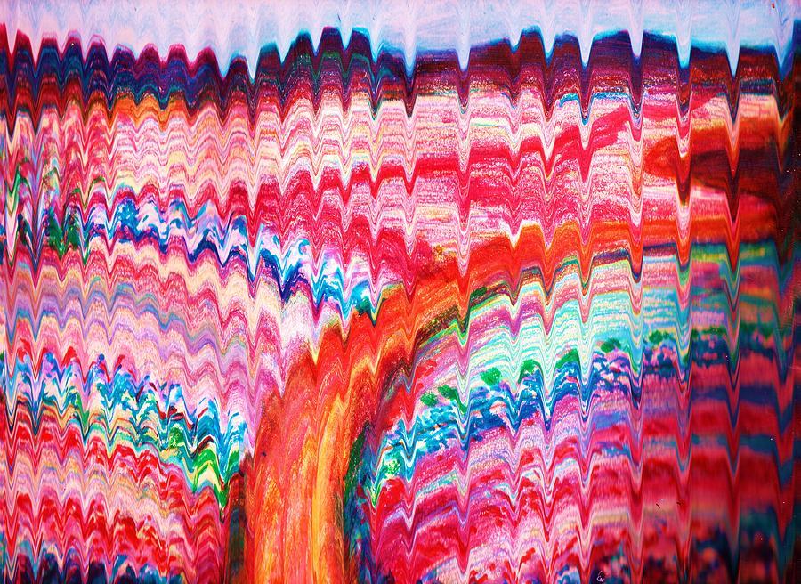 Rick-rack Hills Painting