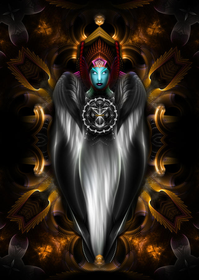 Riddian Queen Polkm401 Digital Art