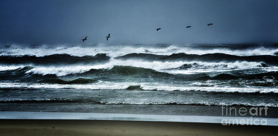 North Carolina Photograph - Riders On The Storm 1 - Outer Banks by Dan Carmichael