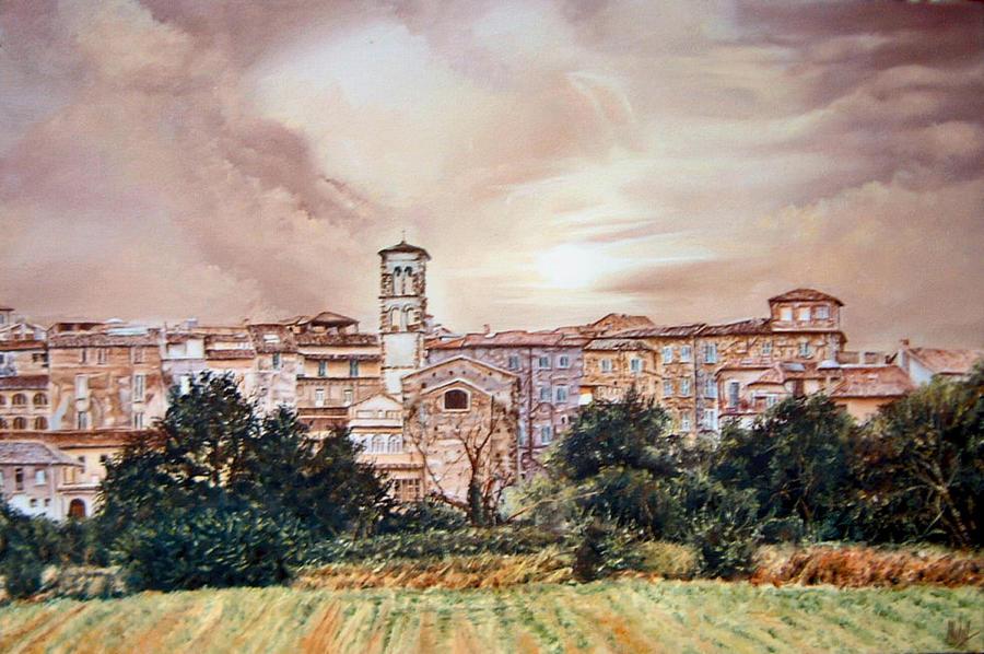 Rieti Panoramic Painting