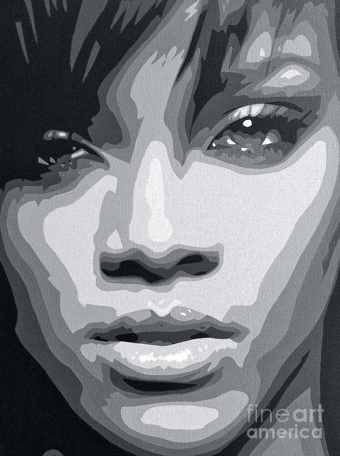 Rihanna  Painting