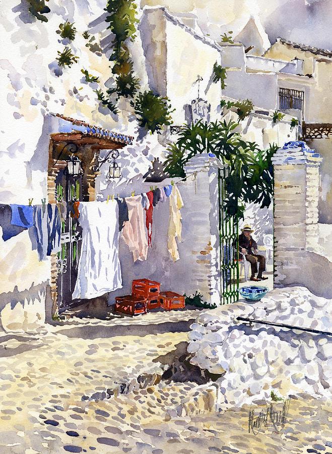Rincon De Sacromonte Painting