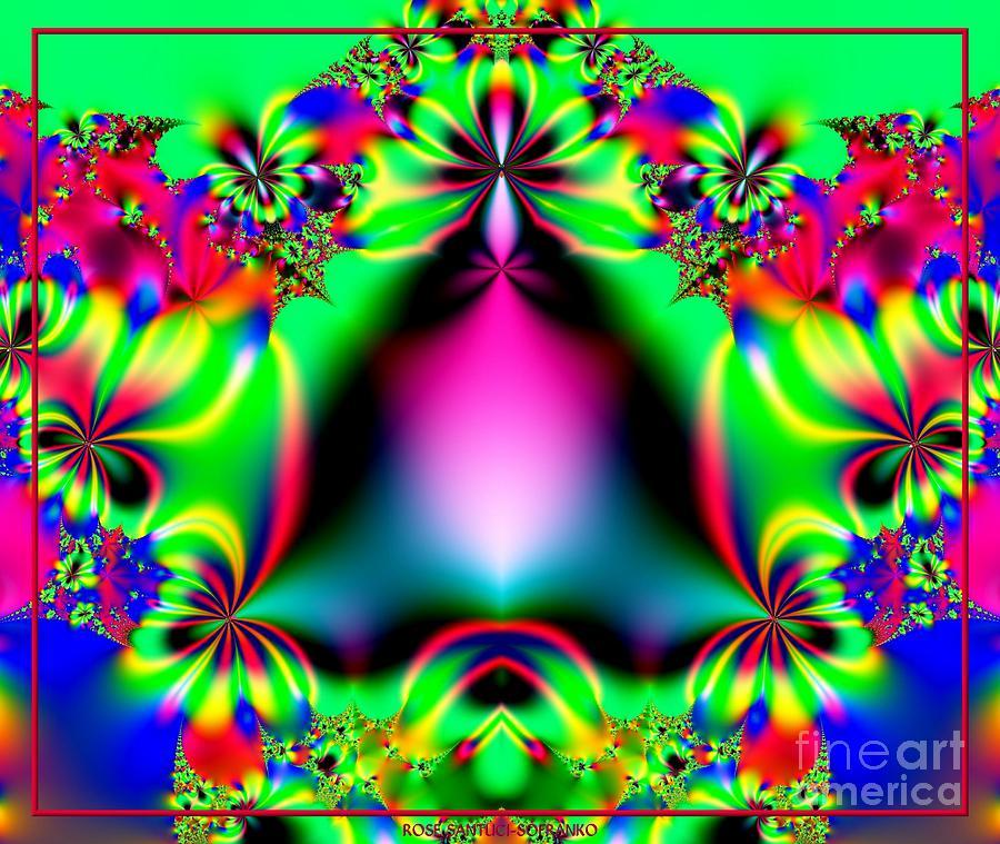 Ringing In Spring Fractal 145 Digital Art