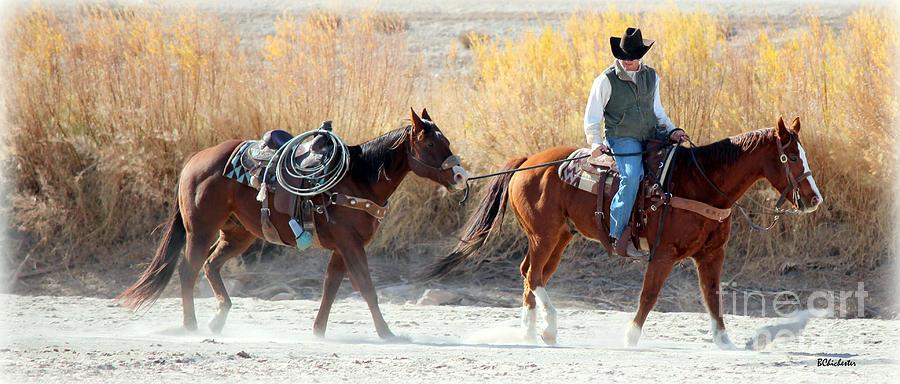 Rio Grande Cowboy Photograph