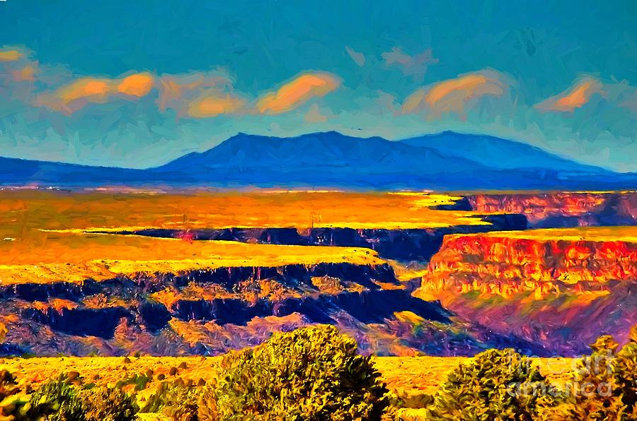 Rio Grande Gorge Lv Painting