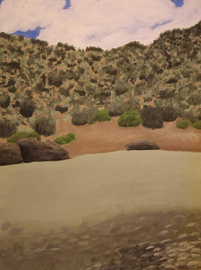 Rio Grande New Mexico Painting