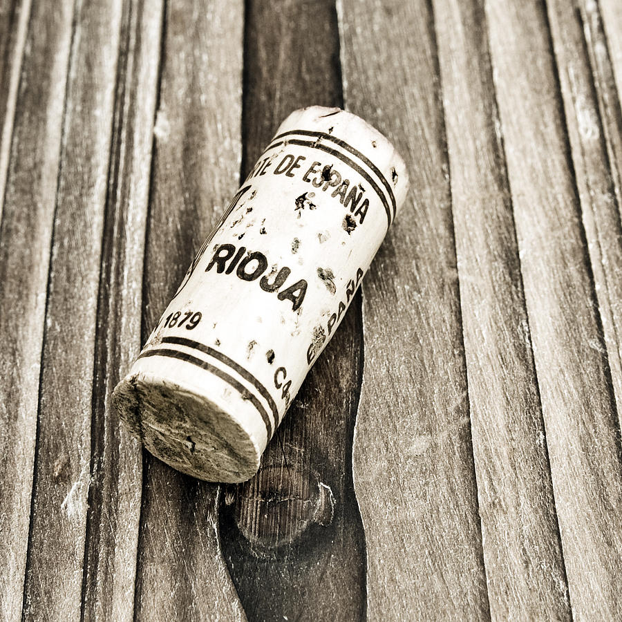 Rioja Wine Cork Photograph