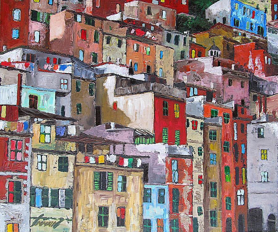 Riomaggiore - Cinque Terre - Italy Painting