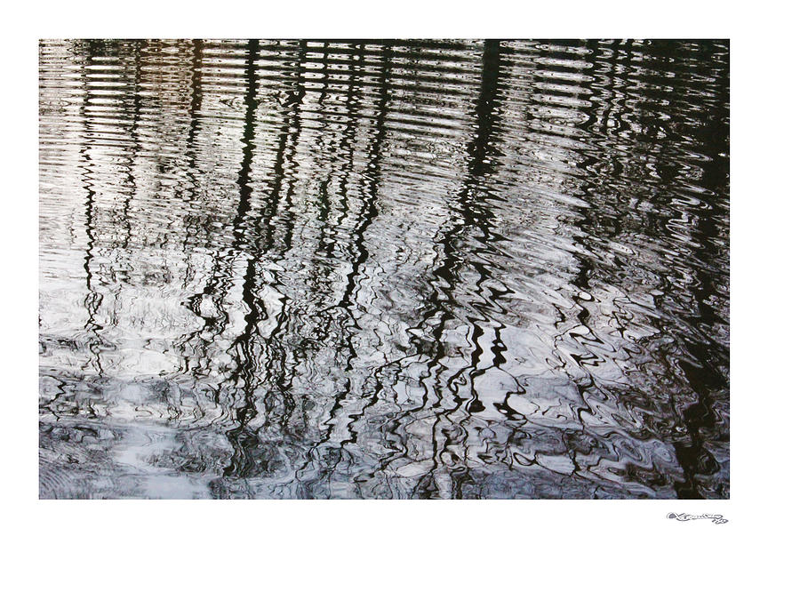 Rippled Reflections 2 Photograph  - Rippled Reflections 2 Fine Art Print