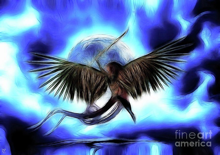 Risen From The Flame Digital Art