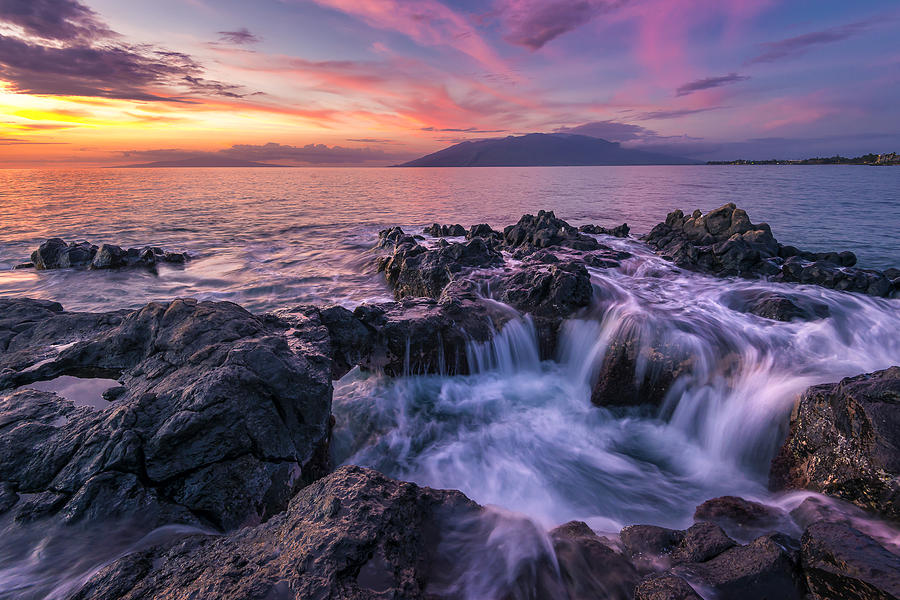 Rising tide photograph by hawaii fine art photography for Hawaii tides for fishing