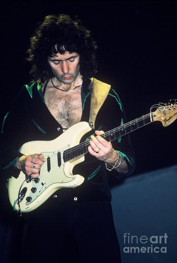 Ritchie Blackmore by David Plastik