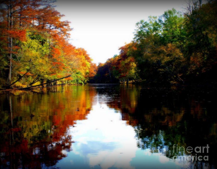 River Calm Photograph  - River Calm Fine Art Print