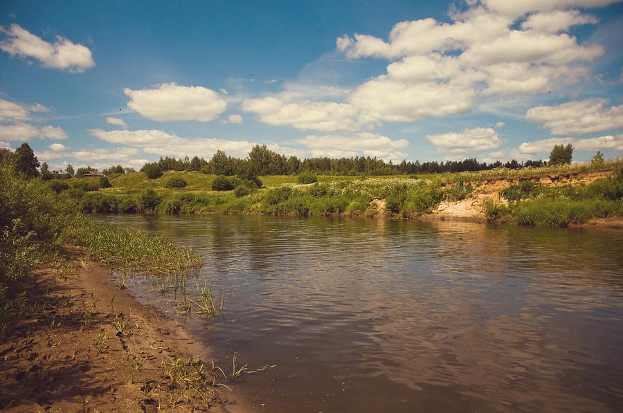 River Flows Photograph