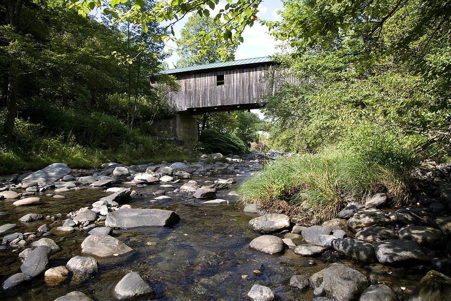 River Gorge Covered Bridge Photograph