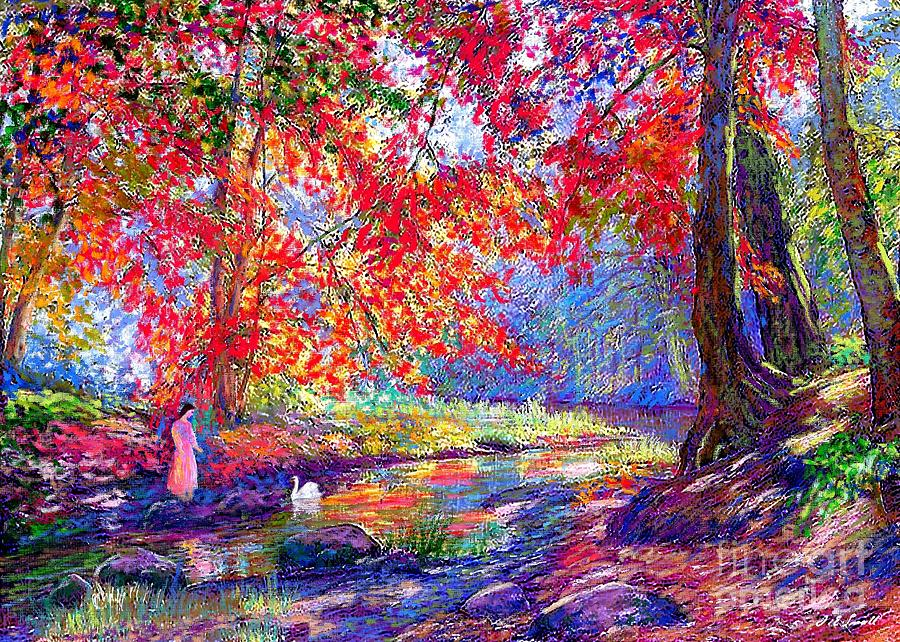 River Of Life Painting