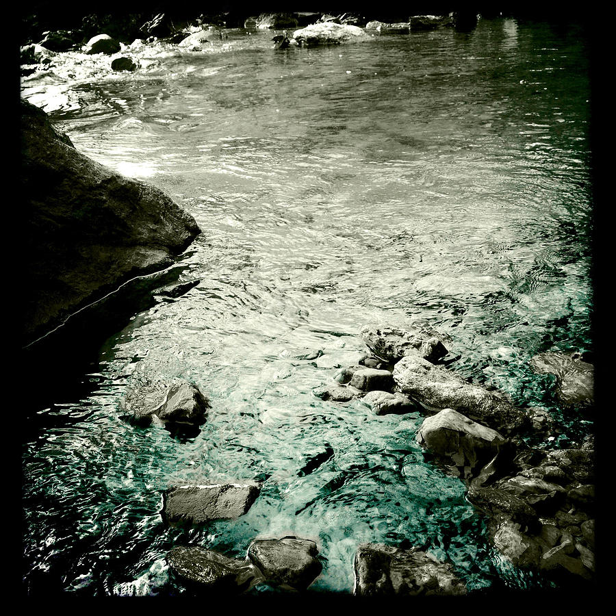 River Rocked Photograph