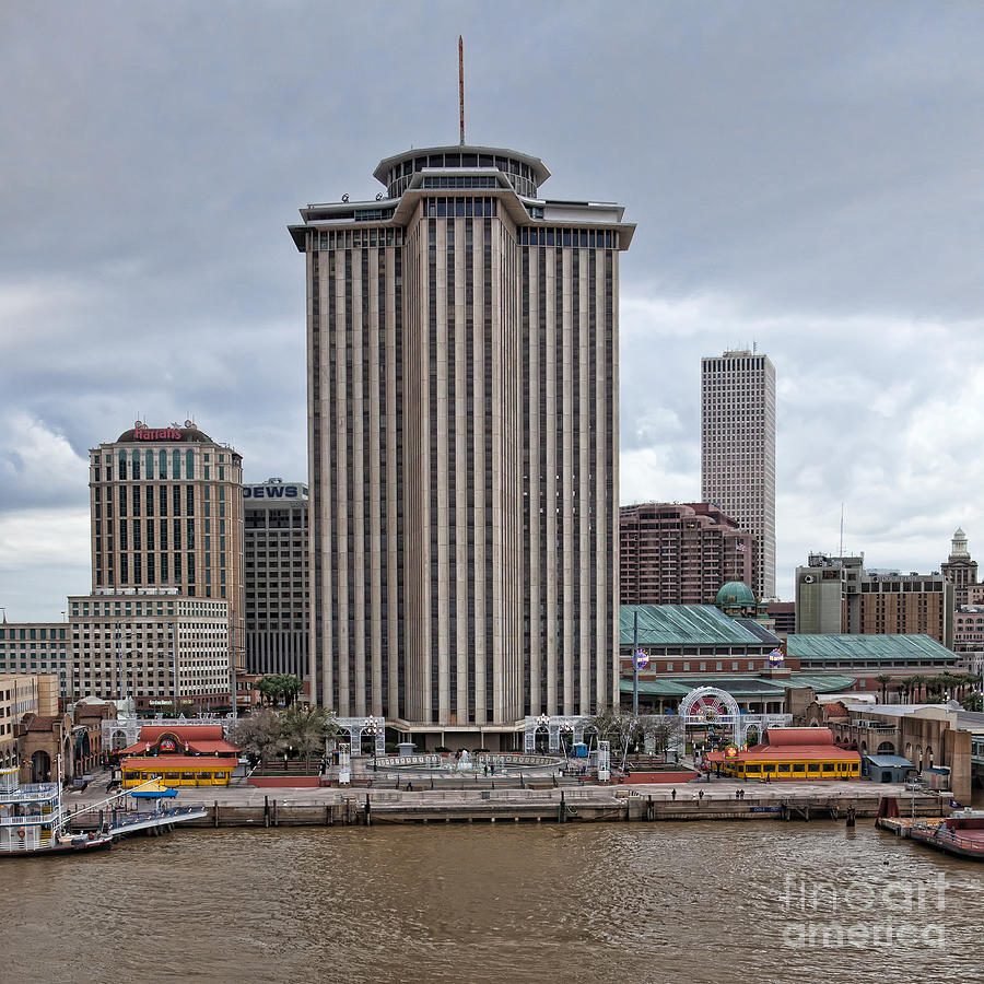 New Orleans Photograph - Riverfront Of New Orleans by Kay Pickens