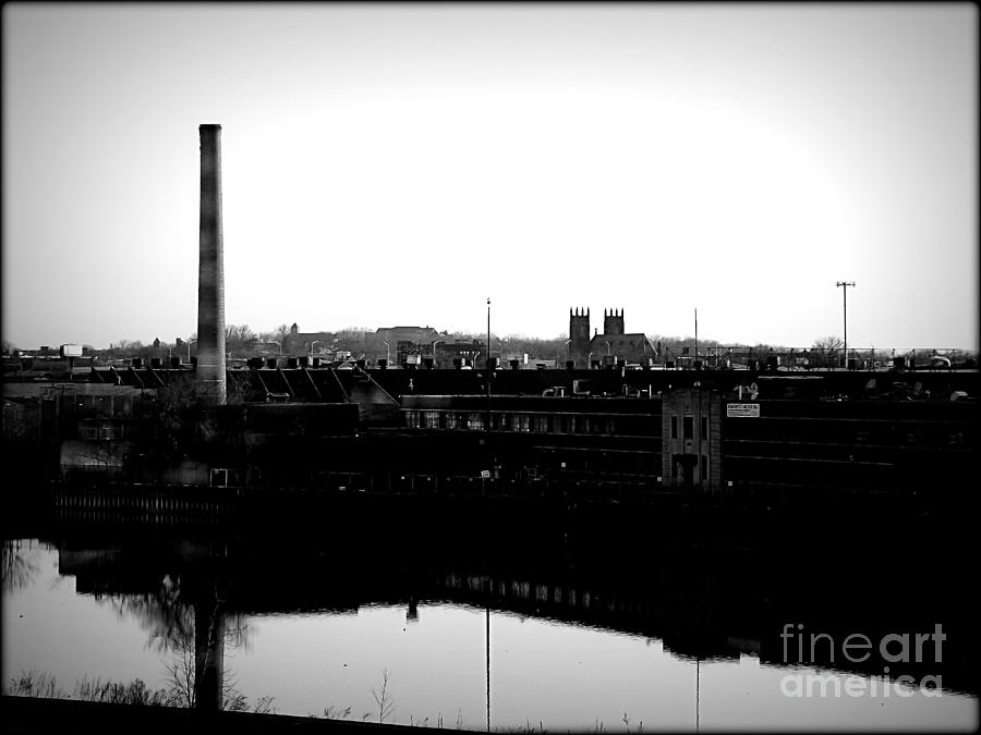 Riverside Industrialism Photograph