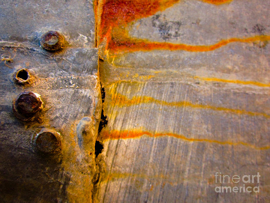 Riveted Photograph  - Riveted Fine Art Print