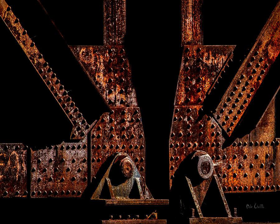 Rivets Photograph - Rivets Number Three by Bob Orsillo