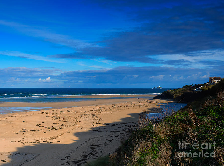 Riviere Sands Cornwall Photograph