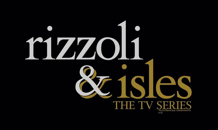 rizzoli and isles logo by brand a